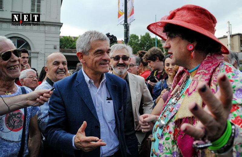 Sergio Chiamparino Gay Pride LGBT Torino Italia 2014
