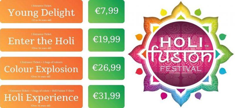Турин билеты на фестиваль красок