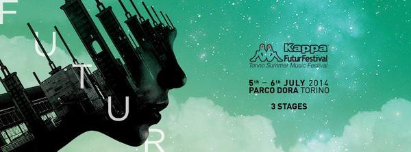 kappa future festival Torino 2014 Турин в июле 2014 года