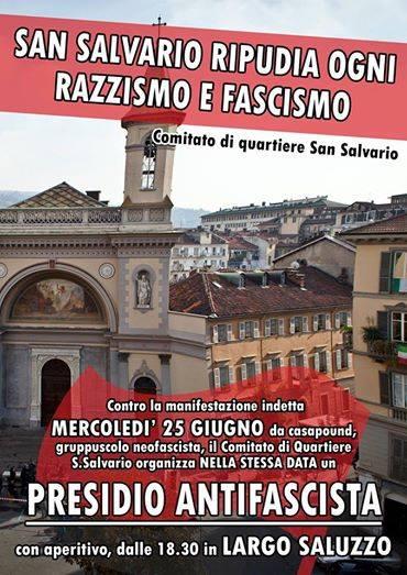 san salvario ripudia ogni razzismo e fascismo Турин мероприятия июнь 2014 года
