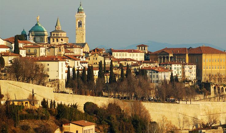 Север Италии Бергамо