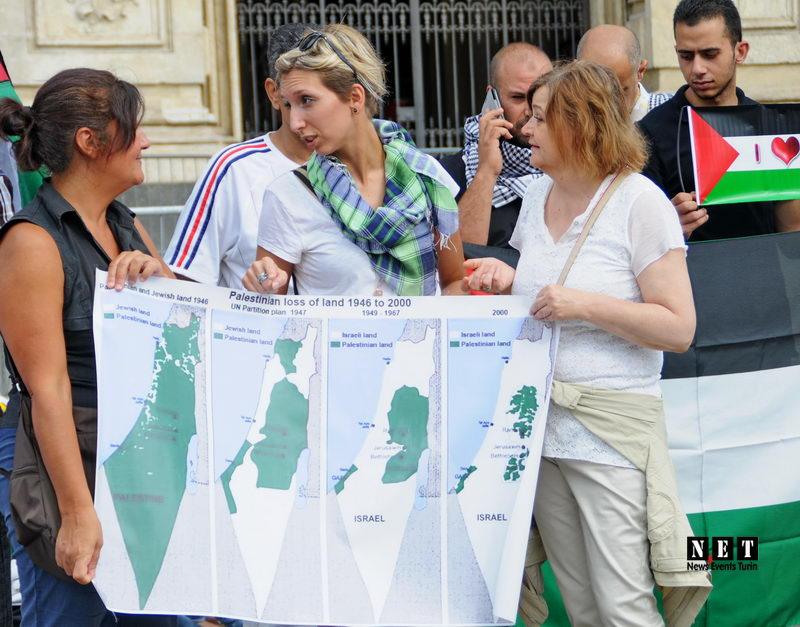Турин бойкотирует Израиль захватчик палестинских земель