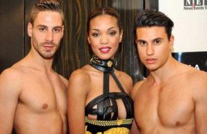 Частная коллекция Gianni Versace Турин на показе мод.