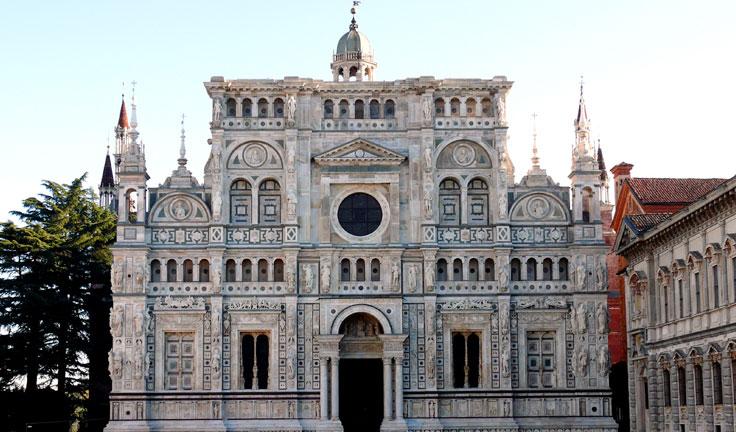 Несравненные замки северной Италии Павия