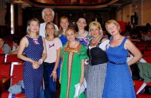 III международный фестиваль русской культуры в Турине Италии