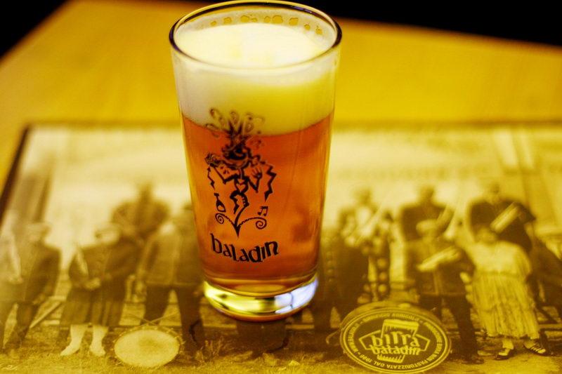 Итальянское ремесленное пиво Баладин