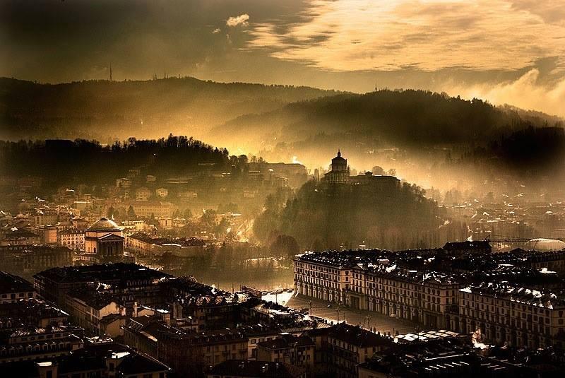 Лучшая панорама Турина фотографии окрестностей отзывы Турин Пьемонт Италия