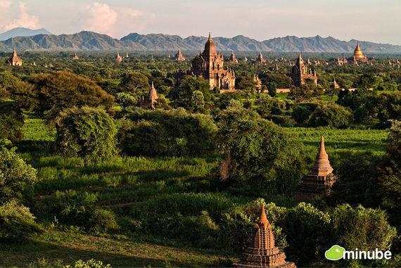 Паган (или Баган) — древняя столица одноимённого царства на территории современной Мьянмы