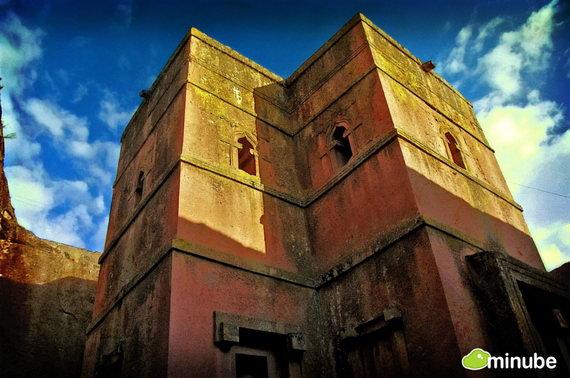 Лалибела — это небольшой город, притулившийся на склонах горы Абуна-Йосеф