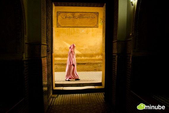 Марракеш — одна из древних столиц Марокко, находится у подножия Атласских гор
