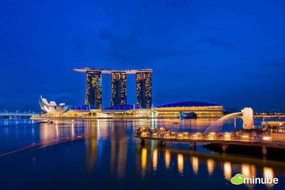 Республика Сингапур — город-государство, расположенный на островах в Юго-Восточной Азии