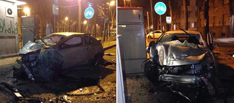 В Турине в ДТП попали молдаван и украинка
