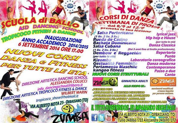 Научиться танцевать в Турине