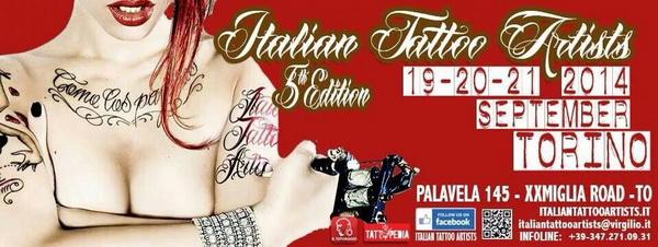 Слет Итальянских татуировщиков в Турине