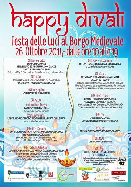Diwali festa delle luci Torino 2014