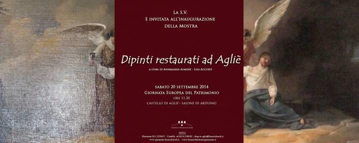 Графский замок Aglie и выставка картин