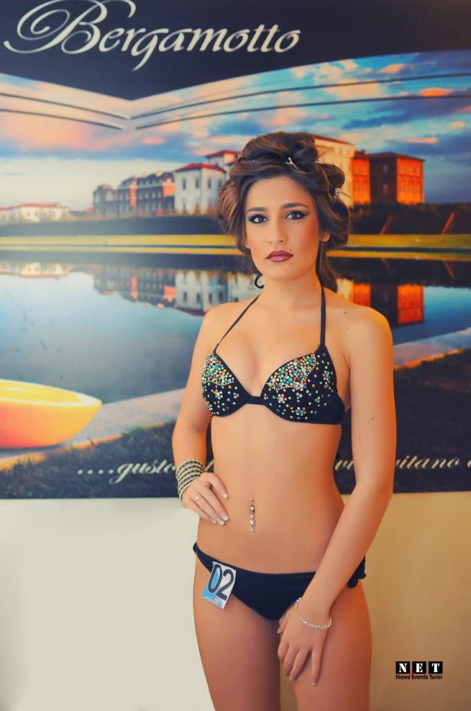 Девушка для моды в Турине Италия