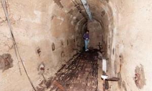 В Турине нашли бомбоубежище времен Второй Мировой войны.