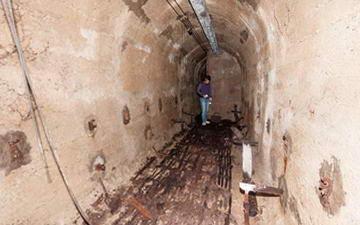 В Турине нашли бомбоубежище под площадью