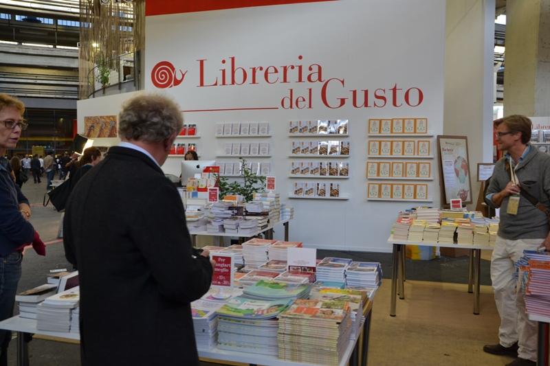 Libreria salone del gusto Torino