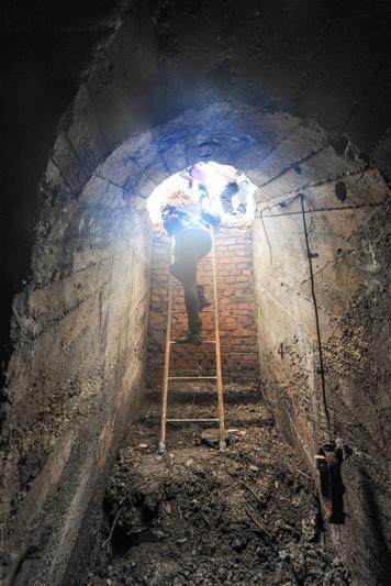 Под Турином нашли бомбоубежище