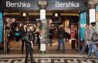 Открытие модного магазина Bershka в Турине.