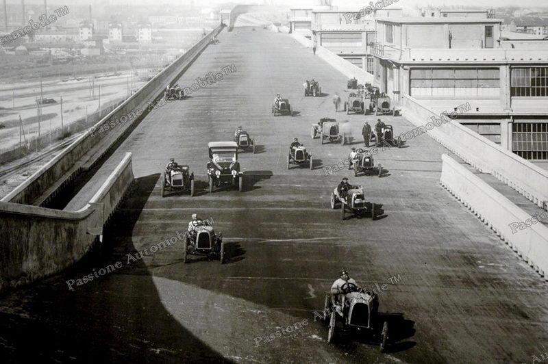 Турин фабрика автомобилей Линготто