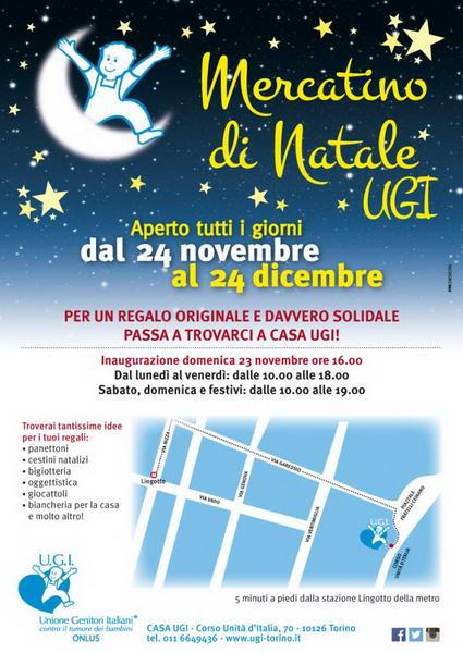 Mercato Natale Torino 2014