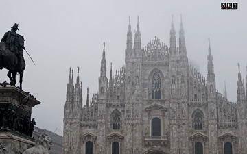 Милан уличная фотография Рождество 2014 Италия
