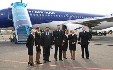 Прямой рейс Air Moldova Турин – Кишинев два раза в неделю