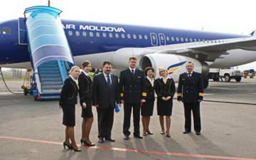 Новый рейс Турин Кишинев
