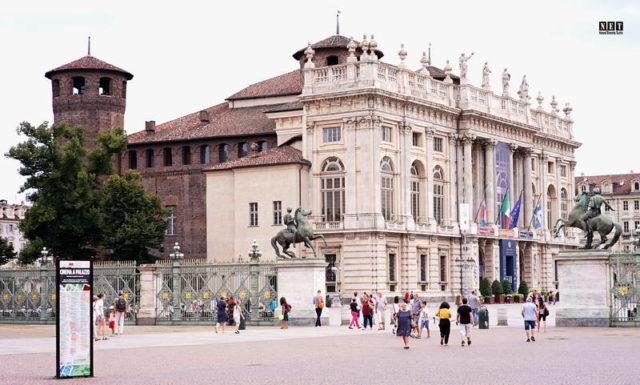 Турин Дворец Мадама, palazzo Madama, Madama palace