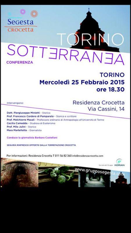 Турин под землей События Турина февраль 2015