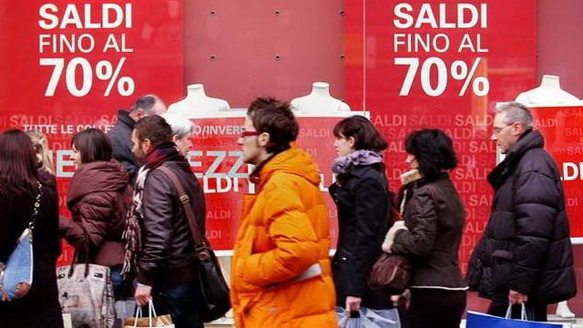 Какими были зимние распродажи в Турине 2015