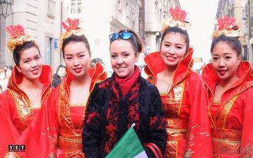 Китайский новый год в Италии Турин