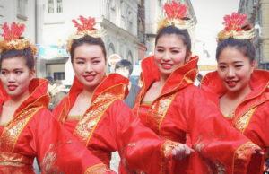Китайский Новый год в Турине Италия Capodanno cinese Torino 2015