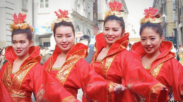 Китайские ассоциации решили показать свой Новый год в Турине