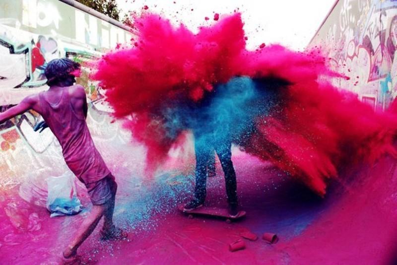 Турин весь в красках фестиваль