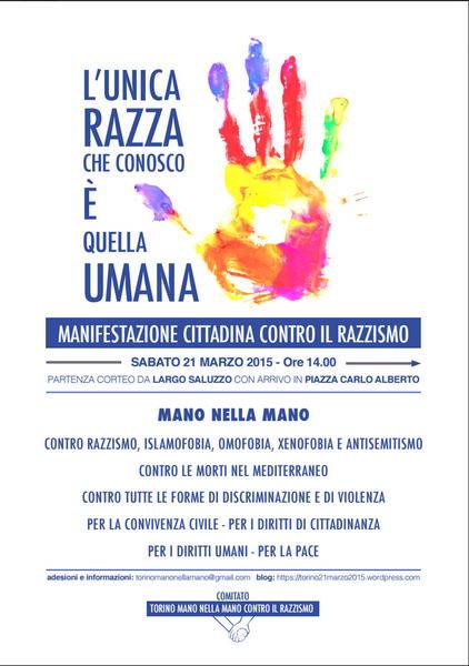 Манифестация мусульман Турина против исламофобии