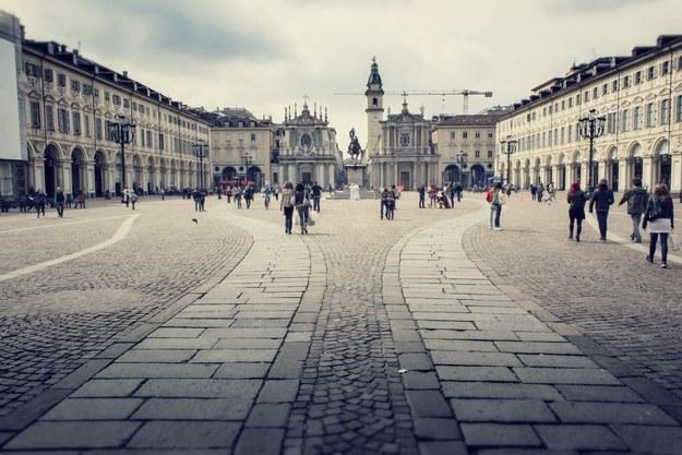 Площадь Сан Карло в городе Турин
