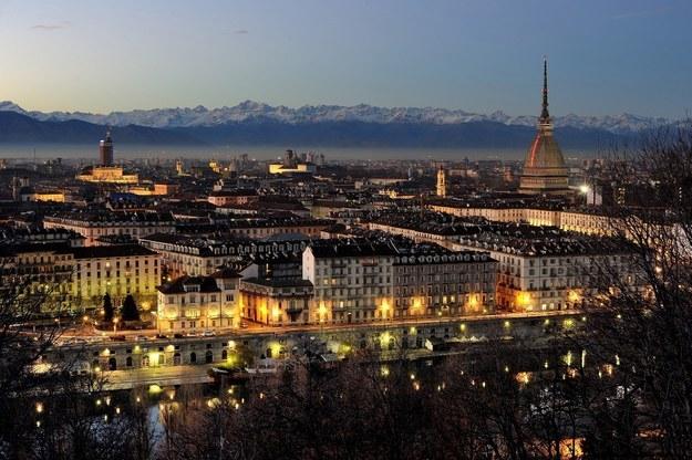 Вид на Турин сверху, обзорная панорама это настоящая Италия