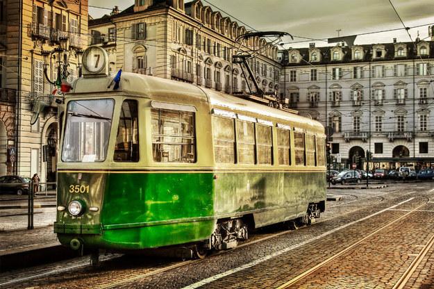 Транспорт в Турине автобусы и трамваи