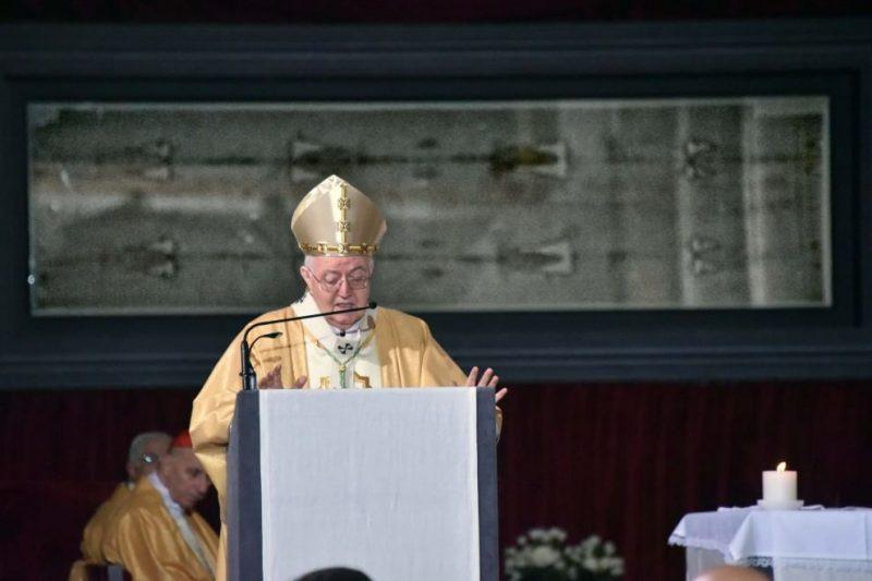 Туринская плащаница открытие епископ Турина 2015