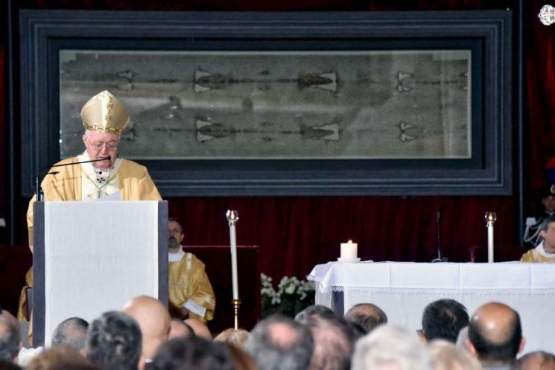 Показ христианской святыни в Турине