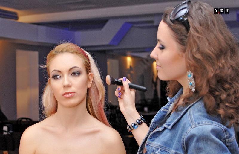 Визаж макияж Турин Италия Moda Torino modelle