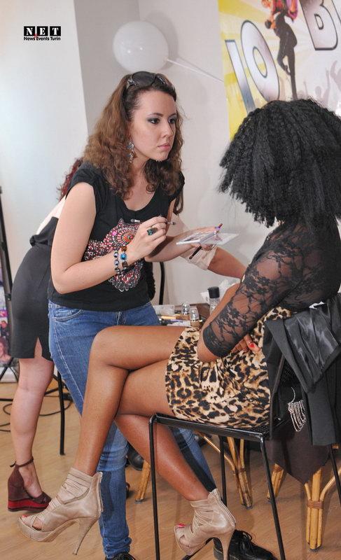 Модный макияж в Турине Италия