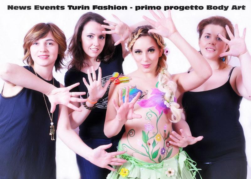 Bodypainting Torino NET body art fotografo professionista Torino