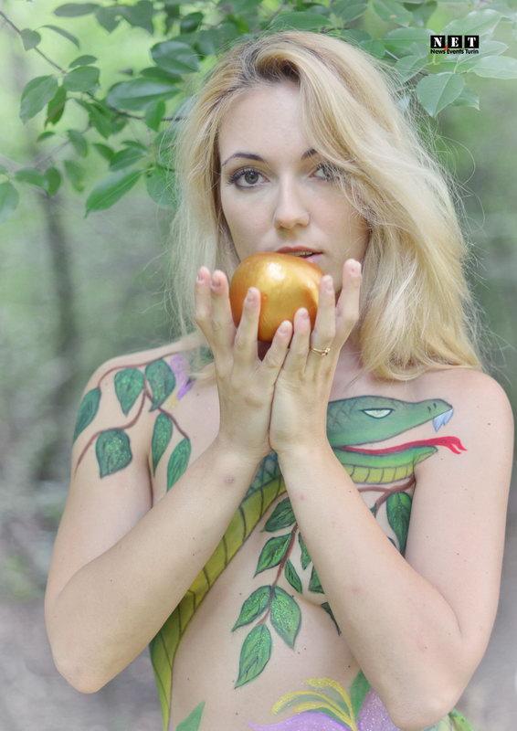 Body Art Torino Deborah Leone modella professionista fotografo Body painting Torino Italia