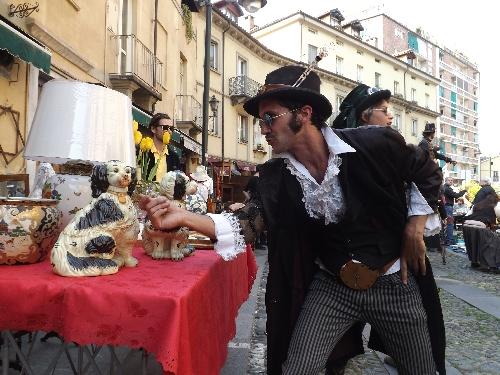 balon torino антикварный рынок Турина