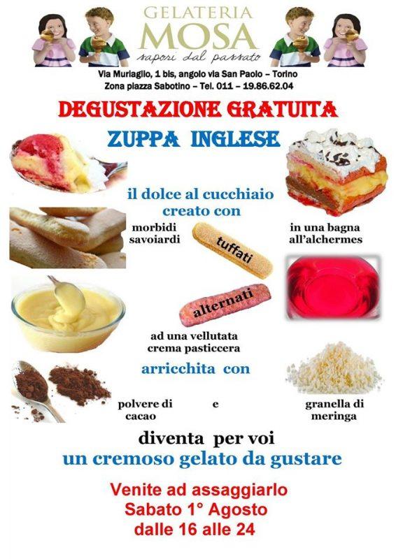 Дегустация мороженного в Турине